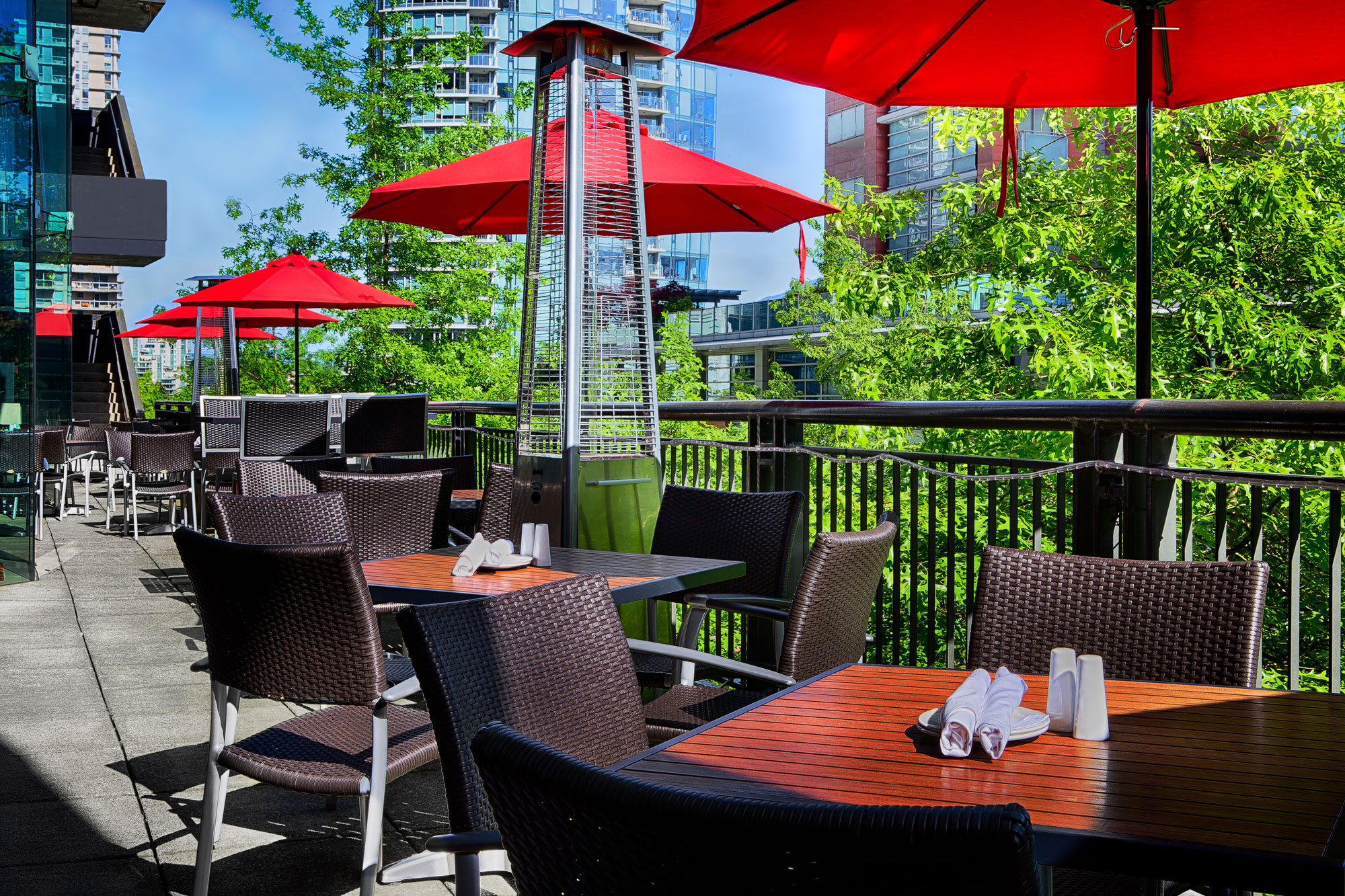 Downtown Vancouver Restaurant with a Patio